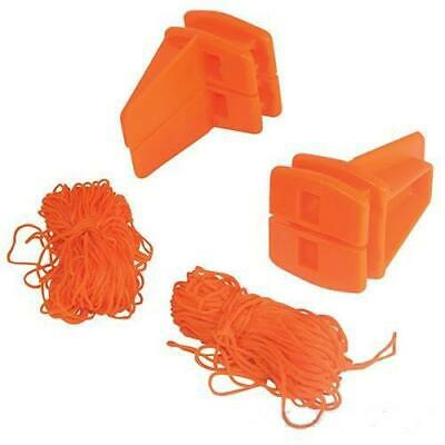 18m Corner Block & String Line Set Bricklaying Bricky Tools