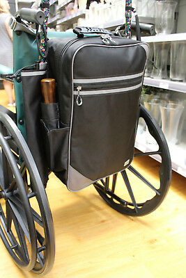 Flexi Mobility Bag for Wheelchairs / Scooters inc. Crutch Holders