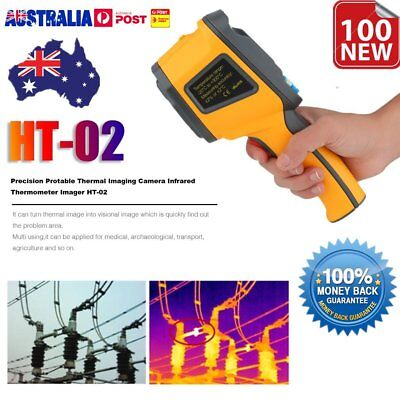 Precision Protable Thermal Imaging Camera Infrared Thermometer Imager HT-02 AUHA