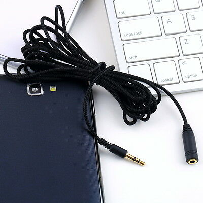 3M 10ft 3.5mm Female to Male F/M Headphone Stereo Audio Extension Cable Cord GX