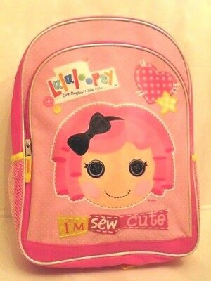 Lalaloopsy and Friends - Pink Girls  16 inch Large School BACKPACK
