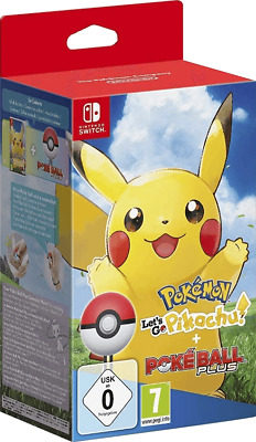 Pokemon: Let´s Go, Pikachu! + Pokeball Plus - Switch - BLITZVERSAND - NEU