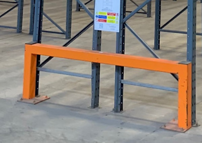 Steel barriers, Pallet racking barriers  *****CHEAP PRICES******  £35.00 + vat