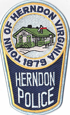 Town of Herndon Police Patch Virginia VA
