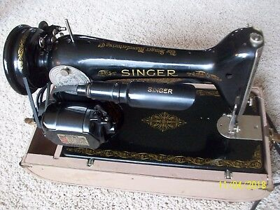 VINTAGE 40 SINGER Sewing Machine 4040 With Manual And Style 40 Amazing Sewing Machine Repair Norman Ok