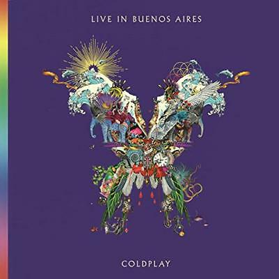 Coldplay Cd - Live In Buenos Aires [2 Discs](2018) - New Unopened - Rock