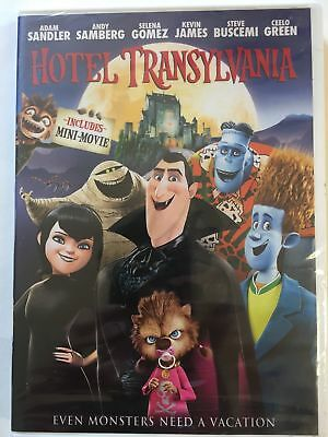 HOTEL TRANSYLVANIA DVD WS Brand New & Sealed USA Free Shipping