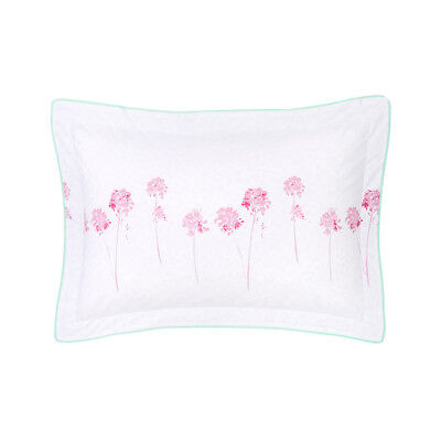 Yves Delorme - Rivages Flamant Pillow Case 200Tc Egyptian Cotton £10 Each