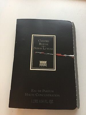 Serge Lutens (alte Version ) EDP Chypre Rouge