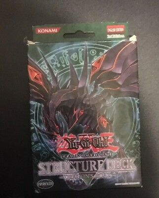 Yu-Gi-Oh Structure Deck Dragon's Roar SD1-EN COMPLETE 1st Edition Boxed