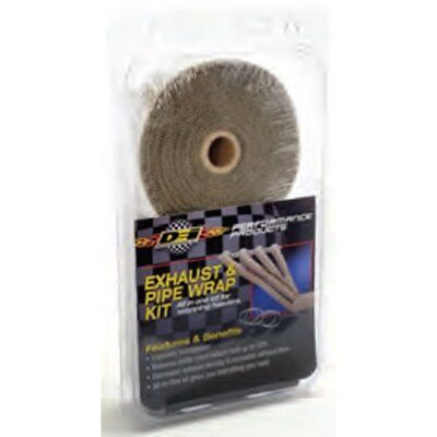 DEI 010095 Exhaust / Header Wrap Kit Titanium Wrap W/Locking Tool