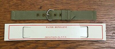 Ca 1940's WWII World War 2 Watch Band Strap NOS 5/8-in USA Military Issue (B1F)