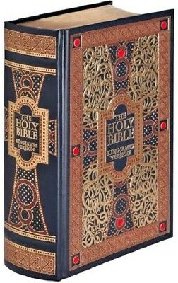 The Holy Bible King James Version KJV Leather Bound Gustave Dore Illustrated NEW