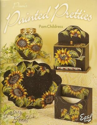Pam's Painted Pretties - Pam Childress Painting Book NEW