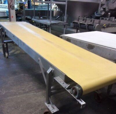 31 Inch X 141 Inch Stainless Steel Belt Conveyor