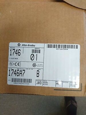 Allen-Bradley 1746-A7 Ser B Mounting Rack Chassis for SLC 500 PLC | 7-Slots