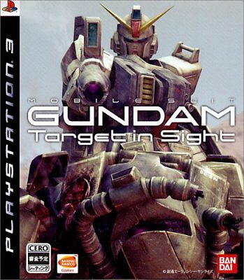Used Game PS3 Mobile Suit Gundam Target in Sight Japan
