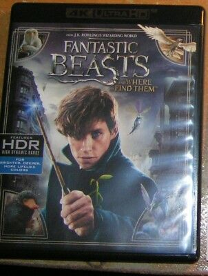 NEW! Quick Ship! FANTASTIC BEASTS and Where to Find Them =BLU RAY DISC=