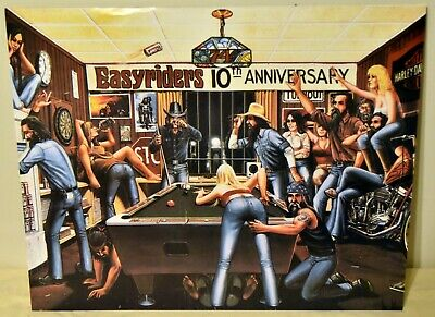 HARLEY DAVIDSON 10th Anniversary Motorcycle 16x20 Poster