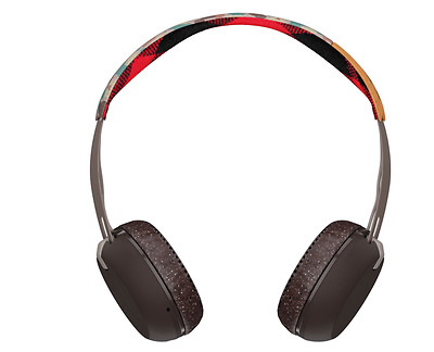 Skullcandy Grind Bluetooth Wireless On-Ear Headphones with Built-In Mic W remote