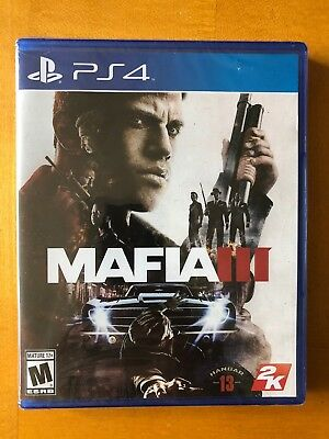 Mafia III - PlayStation 4 - PS4 Brand New Sealed - Free Shipping