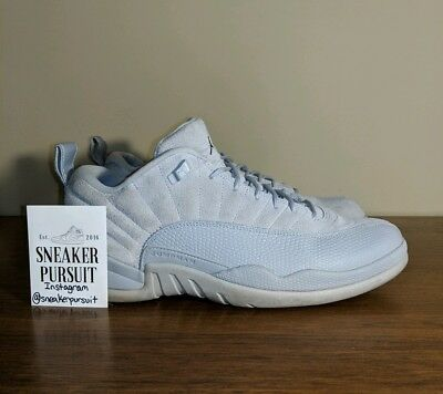 low priced 85cde 34bfc AIR JORDAN 12 Retro Low Wolf Grey Suede size 11 308317-002