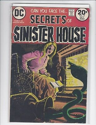 Secrets of Sinister House #14 - DC Horror - 1974 - Fine/Very Fine