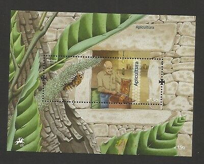 Portugal 2013 - Apiculture Portugal Bees and Beekeeper S/S MNH