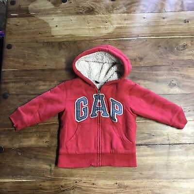 Baby Gap Hoodie Red Size 2