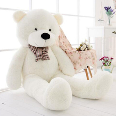 60CM-200CM Huge Giant Plush Teddy Bear Big Animal Soft Toy Gift (ONLY COVER) New