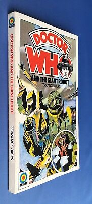 Doctor Who and the Giant Robot - Target 28 - First 1st Edition - Terrance Dicks