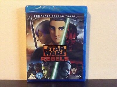 Star Wars Rebels - the complete season 3 [Blu-ray] *BRAND NEW*