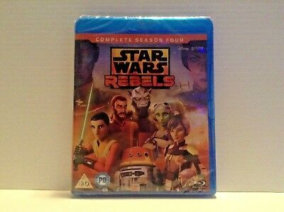 Star Wars Rebels - the complete season 4 [Blu-ray] *NEW*