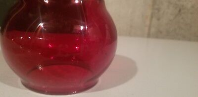 Red cpr Railroad Lantern Globe