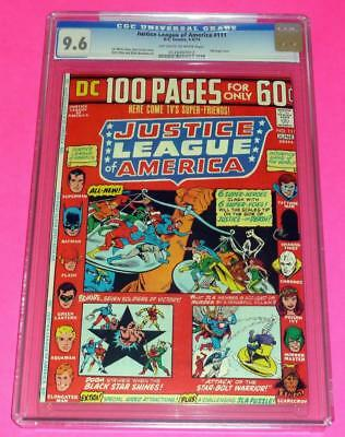 1974 JUSTICE LEAGUE OF AMERICA 111 CGC 9.6 OW-W NM+ Seven Soldiers of Victory