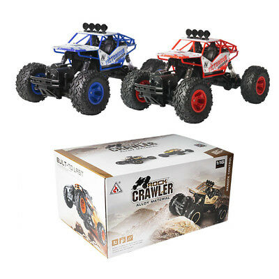 4WD RC Monster Truck Off-Road Vehicle 2.4G Remote Control Buggy Crawler Car Gift