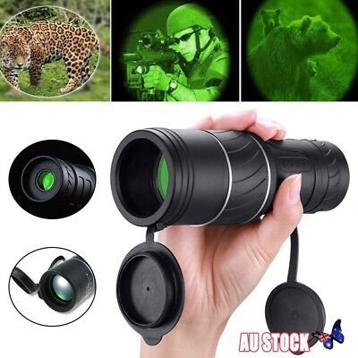 40X60 Night Vision Hunting Monocular Binoculars Optical Handheld Telescope AU