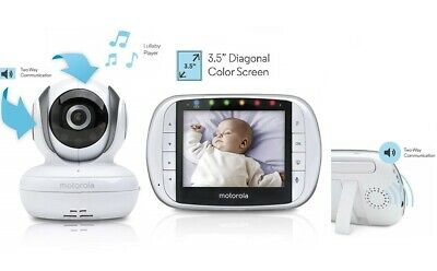 Motorola MBP36S Remote Wireless Video Baby Monitor Baby Monitor Remote Tilt Zoom
