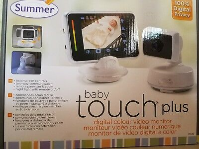 NEW!! Summer Infant Baby Touch Plus MONITOR & Camera # 28620