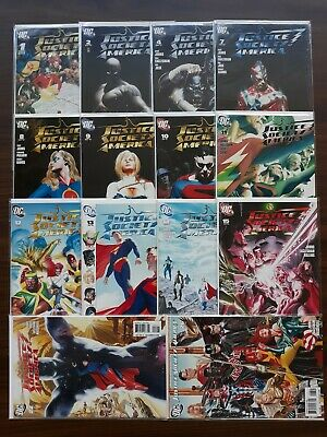 DC comics lot, JSA, JUstice Society of America, Alex Ross collection
