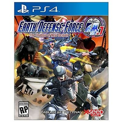 Earth Defense Force 4.1: The Shadow of New Despair - PlayStation 4 NEW