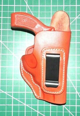 CEBECI 20797RT50 RH Brown Leather IWB Holster for Ruger LC9