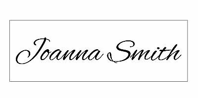 Personalized Your NAME Custom 1 Line Designer Self Inking Rubber Stamper 9011