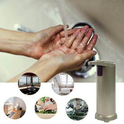 Automatic Soap Dispenser Stainless Steel Auto Sensor Liquid Bathroom Touchless
