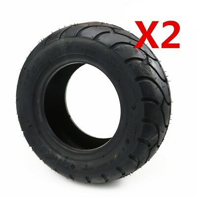 2pcs 13 x 5.00 - 6 Tubeless Tyre Tire ATV Quad Bike 4 Wheel Buggy Mower Go kart
