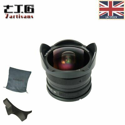 UK 7artisans 7.5mm f/2.8 Manual focus Fisheye Lens for Fuji X mount ,X-Pro