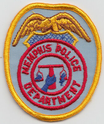 Memphis Police Department patch. See photo.
