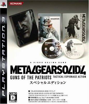 USED PS3 Metal Gear Solid 4: Guns of the Patriots Special Edition Japan Japan