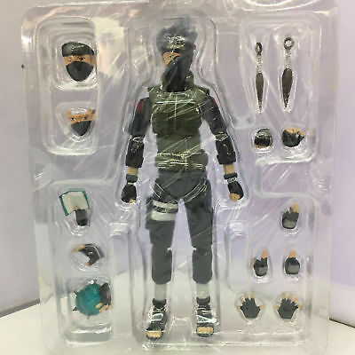 S.H.Figuarts Naruto Shippuden Hatake Kakashi Action PVC Figure Toy In Box USA