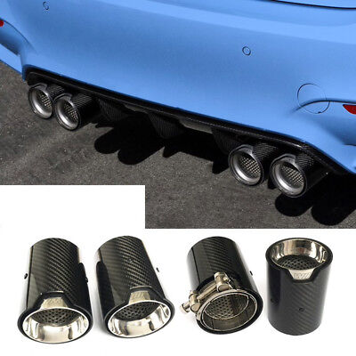 BMW MPE Style Carbon Fibre Exhaust Tips for BMW M2 F87 M3 F80 M4 F82 F83